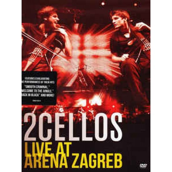 2Cellos ‎– Live At Arena Zagreb (DVD)