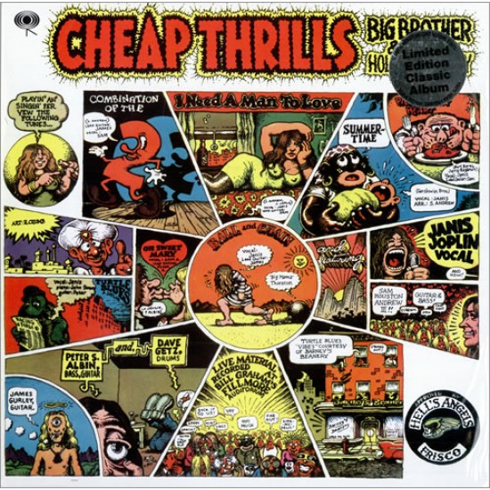 Big Brother & The Holding Company – Cheap Thrills (Vinyl)