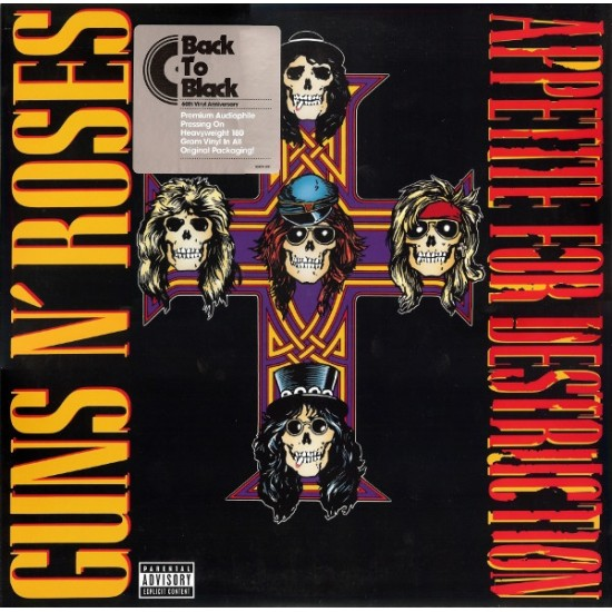 Guns N' Roses – Appetite For Destruction (Vinyl)