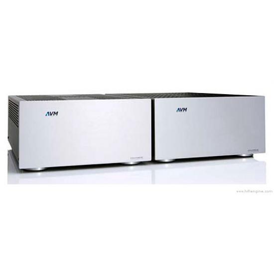 AVM Evolution M3 Monoblock Power Amplifiers & AVM Evolution V3 Stereo Preamplifier (Second Hand)