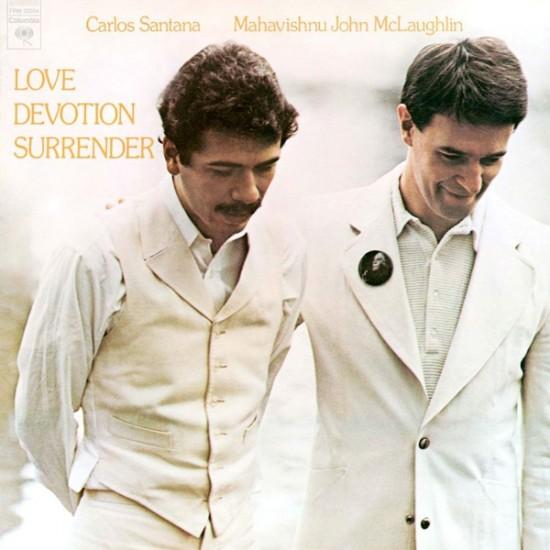 Santana & Mahavishnu John McLaughlin - Love Devotion Surrender (Vinyl)