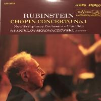 Chopin, Arthur Rubinstein, Stanislaw Skrowaczewski, The New Symphony Orchestra Of London - Concerto No. 1 (Vinyl)
