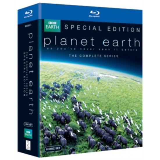 Planet Earth - The Complete Series (David Attenborough) (Blu-Ray)