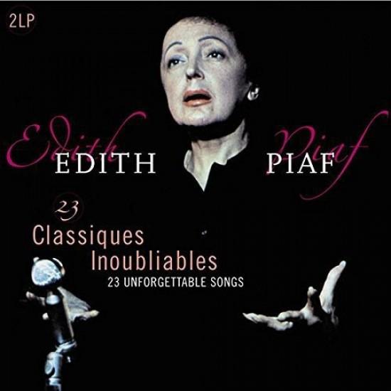 Edith Piaf - 23 Classiques Inoubliables (Vinyl)