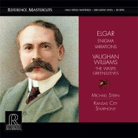 Kansas City Symphony & Vaughan Williams & Elgar – Fantasia On Greensleeves & Wasps / Enigma Variations (Vinyl)