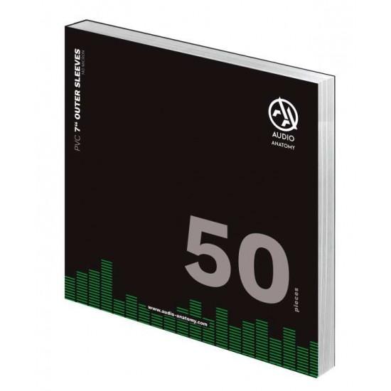 Folii Exterioare Transparente Vinyl 7 Inci Audio Anatomy (140 Micron) (50 buc.)