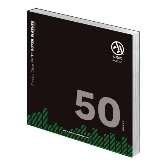 Folii Exterioare Transparente Vinyl 7 Inci Audio Anatomy (90 Micron) (50 buc.)