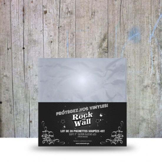 Folii Exterioare Transparente Vinyl 7 Inci Rock On Wall (80 Micron) (20 buc.)