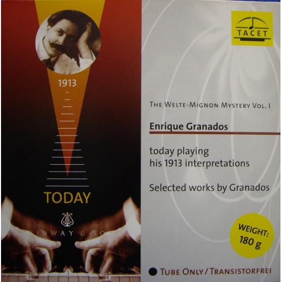 Enrique Granados - The Welte-Mignon Mystery Vol.1 (Vinyl)