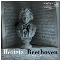 Heifetz, Beethoven - Sonatas Nos. 8 & 10 (Vinyl)