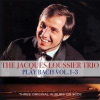 Jacques Loussier Trio ‎– Play Bach Vol. 1-3 (CD)