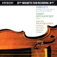 Jean Sibelius, Tossy Spivakovsky, Tauno Hannikainen - Concerto for Violin and Orchestra in D Minor, Op. 47 (Vinyl)