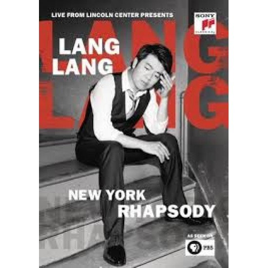 Lang Lang - New York Rhapsody / Live From Lincoln Center (Blu-ray)
