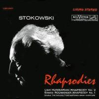 Liszt, Enescu, Smetana, RCA Victor Symphony Orchestra, Leopold Stokowski - Rhapsodies (CD)
