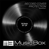 Folii Exterioare Transparente Vinyl 12 Inci Music Box (10 buc)