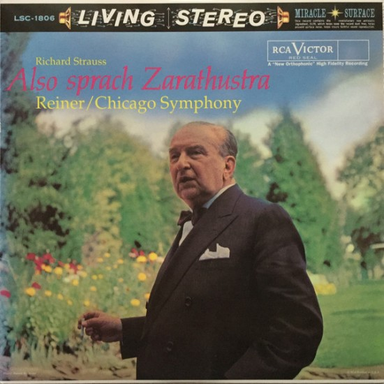 Richard Strauss, Reiner, Chicago Symphony - Also Sprach Zarathustra, Op. 30 (Vinyl)