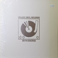 Separatoare Deluxe Albe Piele Vinyl 12 Inci (10 buc.)