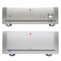 Sistem Halo by Parasound - Preamplificator JC2 + 2 Amplificatoare JC1, Silver (Second Hand)