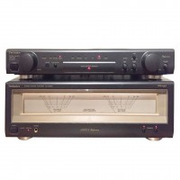 Sistem Technics Amplificator SU-C800U Black + Power Amp SE-A900S Black (Second Hand)