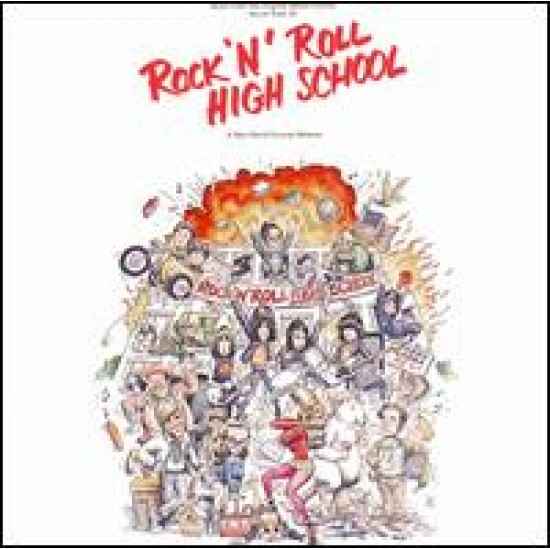 The Ramones - Rock 'N' Roll High School / Original Soundtrack (Vinyl)