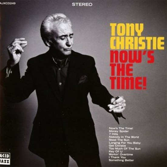 Tony Christie - Now's the time (Vinyl)