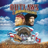 Various - Outlaws & Armadillos: Country's Roaring '70s (CD)