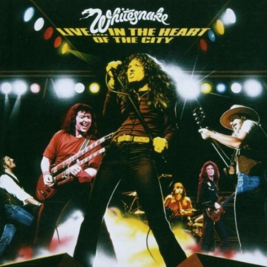 Whitesnake - In the heart of the city / Live (Vinyl)