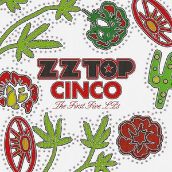 ZZ Top - Cinco: The First Five LPs (Vinyl)