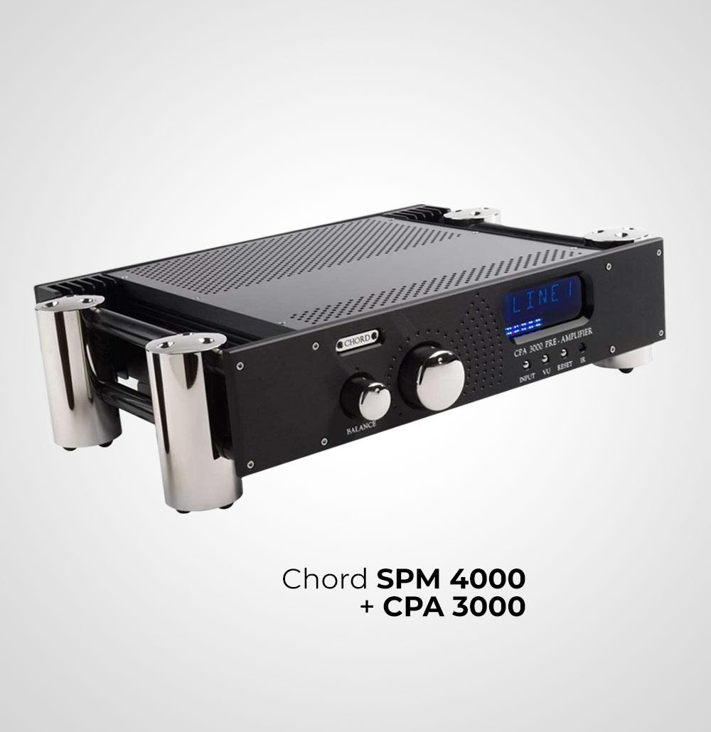 Chord SPM 4000 + CPA 3000
