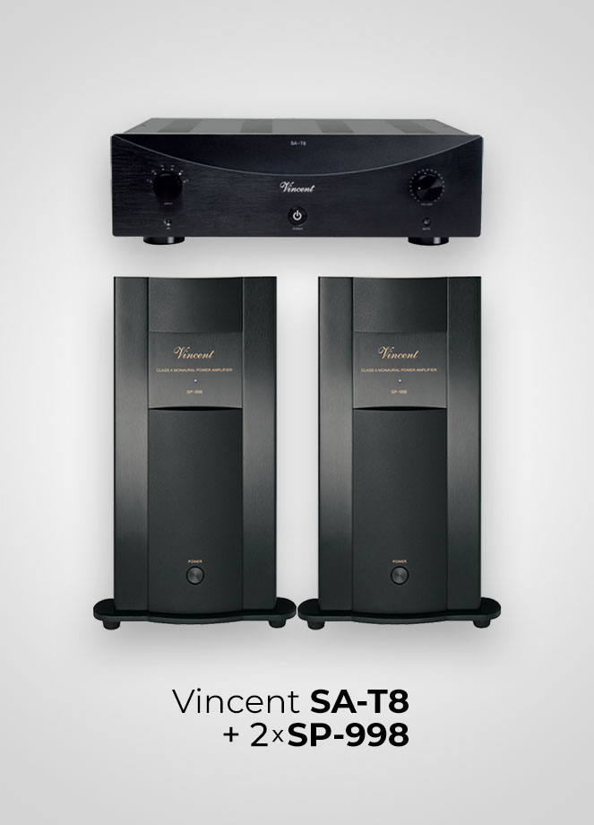 Vincent SA-T8 + SP-998
